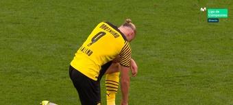El Borussia ganó 5-2 al Eintracht. Captura/MovistarLigadeCampeones