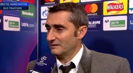 Valverde a parlé de la blessure de Messi. Capture/Movistar