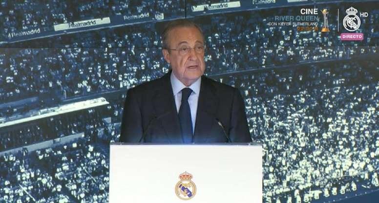 Perez lauded Zidane's loyalty. Captura/RMTV