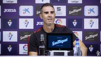 Garitano calificó al Sporting como el mejor equipo de Segunda. YouTube/SDEibar