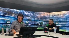 Correa agradeció al Atlético. Captura/ElTransistor