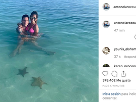 Messi se renova: adeus a barba. Instagram/AntonelaRoccuzzo