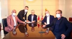 Turan has signed for Galatasaray. Twitter/GalatasaraySK