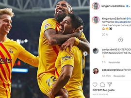 He has wished him well. Instagram/Kingarturo23oficial