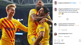 He has wished him well. Instagram/Kingarturo23oficial