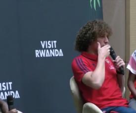 CR7 ou Messi? A resposta curiosa de David Luiz. Captura