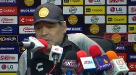 Maradona comparó a sus jugadores con los que tuvo en la Selección Argentina. Captura/ESPN