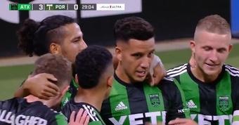 Driussi ya sonríe en la MLS: así metió su primer gol. Twitter/MLS