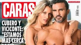 Fabián Cubero subió la temperatura en las redes junto a su chica. Captura/Caras