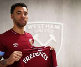 Fredericks is a new face at West Ham. WestHam