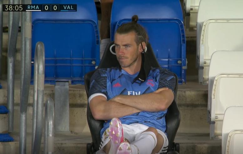 L'image de Bale qui fait parler en Espagne. Capture/LaLiga