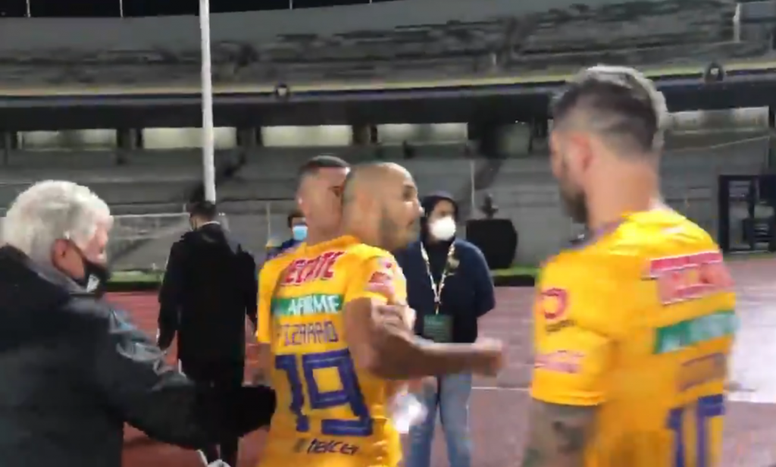 Pizarro retó a Siboldi. Captura