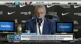 Gustavo Alfaro espera tener un equipo equilibrado de cara a la Libertadores. Captura/ESPN