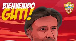 Guti nommé entraîneur d'Almeria. Almeria