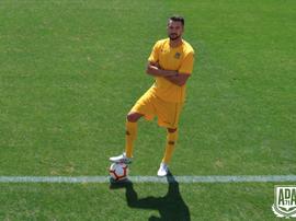 Rodas firmó este verano por el Alcorcón. ADA