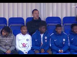 John Terry estuvo presente en el partido de la Youth League del Chelsea. beINSports