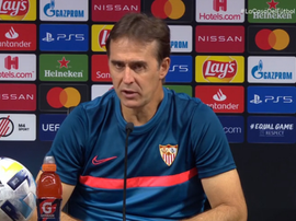Lopetegui se quejó del calendario. Captura/Movistar