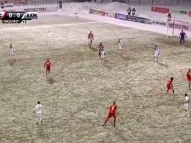 Kombarov protagonizó el gesto antideportivo que indignó a toda Rusia. Twitter