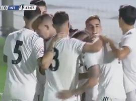 El Castilla empató y no pudo asaltar el liderato. RealMadrid