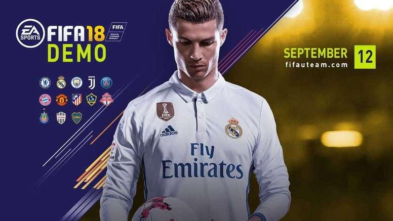 La demo del FIFA 18 contará con 13 equipos. EASports