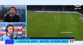 Alario no jugaría en Boca. Captura/FOXSportsArgentina