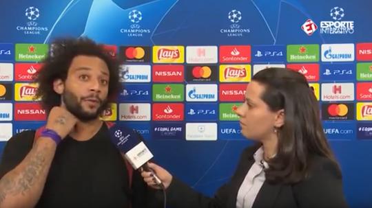 Marcelo cree que Cristiano saldrá de esta. Captura