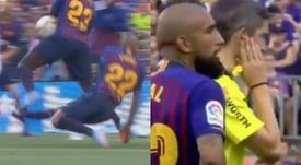 Undiano décide de ne pas accorder de penalty. Capture/Antena3