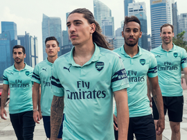 Terceiro uniforme do Arsenal para a temporada 2018-19. ArsenalFC