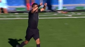 Defienden al árbitro que 'usó' el VAR en Bolivia. Captura/TigoSports