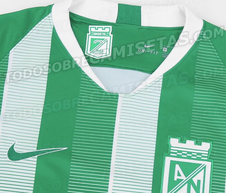 Pin Esta podría ser la nueva camiseta de Atlético Nacional para el 2019.  AtleticoNacional e532cda8907a6