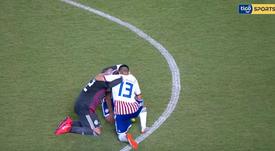 Paraguay tiró de casta para remontar a Italia. Captura/TigoSports