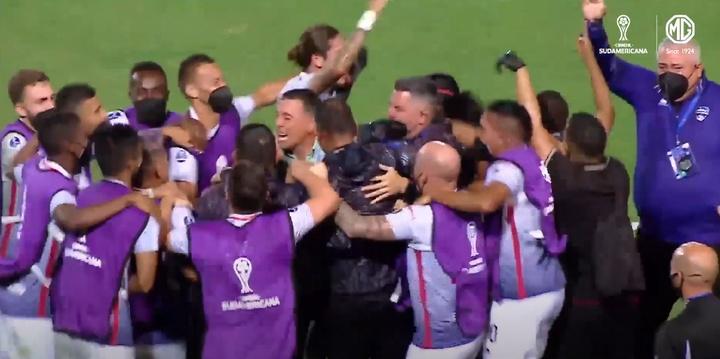Metropolitanos estará en la fase de grupos. Captura/CONMEBOLSudamericana