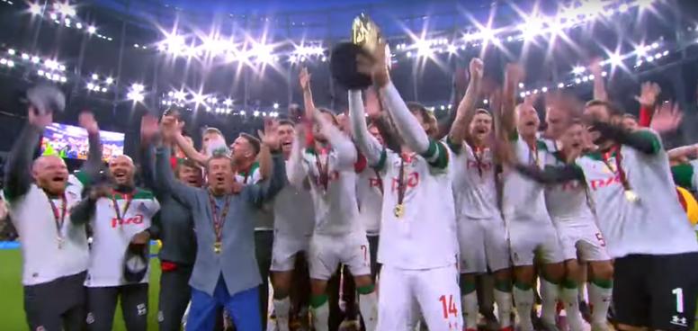 El Lokomotiv conquista la Supercopa 14 años después. Youtube