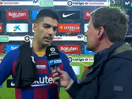 Suárez a raconté son but. Capture/MovistarLaLiga