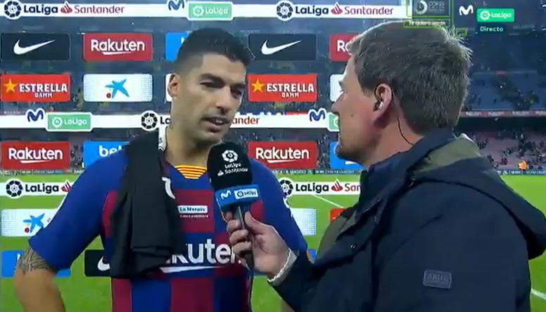 Suárez a raconté son but. Capture/MovistarLaLiga