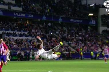 Marcelo avait le 3-2 dans les jambes. Capture/FoxSports