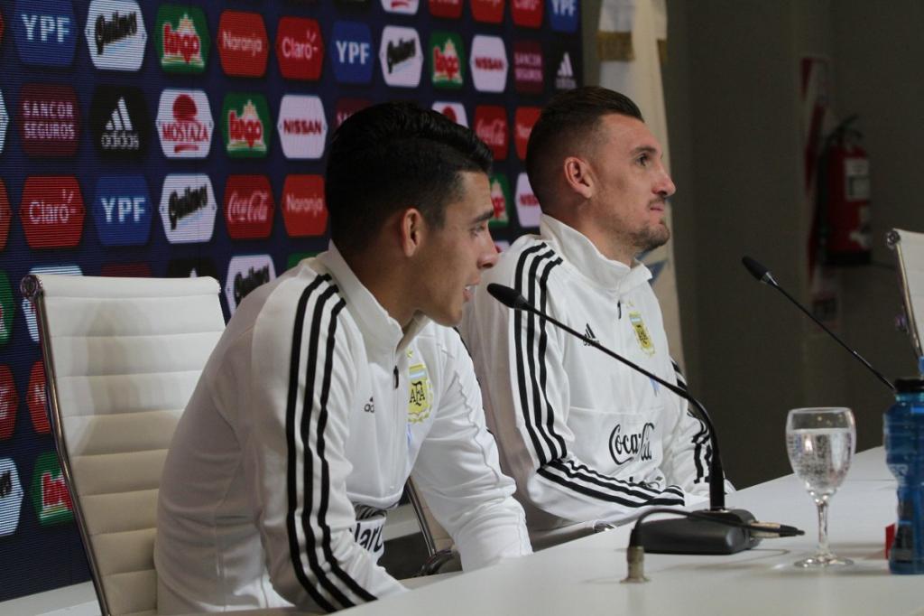 Armani eligió el partido que lo lleva al Mundial