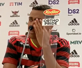 Pedro Rocha desatou a chorar. Captura