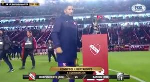 Independiente celebró la conquista del título internacional número 18. FoxSports