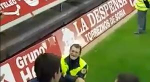 El doble de Rajoy estuvo en Soria. Twitter/Raul_Pucela