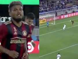 Martínez ne connait pas de coup de mou cette saison et a déjà marqué plus de 30 buts. Capture/MLS