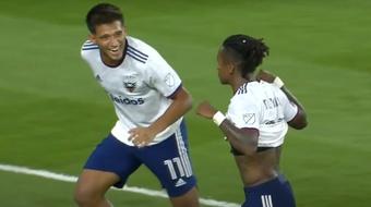 Victoria del DC United. Captura/MLS