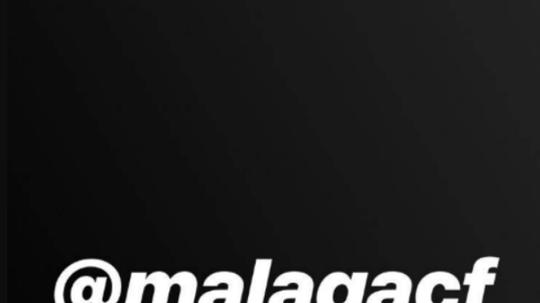 Isco en soutien de Malaga. Isco