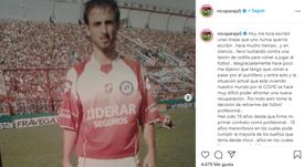 Pareja anunció su retirada. Instagram/Nicopareja5