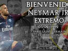 El Mérida anunció el 'fichaje' de Neymar. Mérida