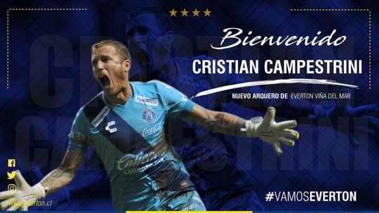Campestrini arrive au Chili. Everton
