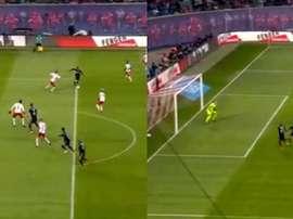 Le Bayern prend les devants grâce à Wagner sur un superbe centre de James. Capture
