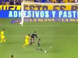 Nico Fernández falló lo que no se puede fallar. Captura/TNT