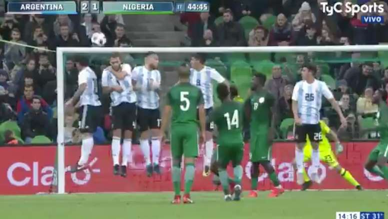 Iheanacho reduziu para a Nigéria através de um golaço - BeSoccer a77b97cf2cc13