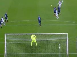 Illarramendi anotó un gran gol ante el Dépor. Captura/beINSports